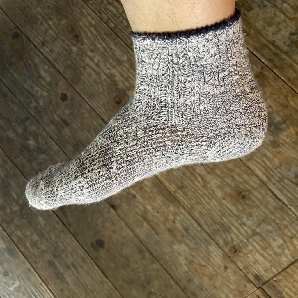 無印良品の足なり直角靴下